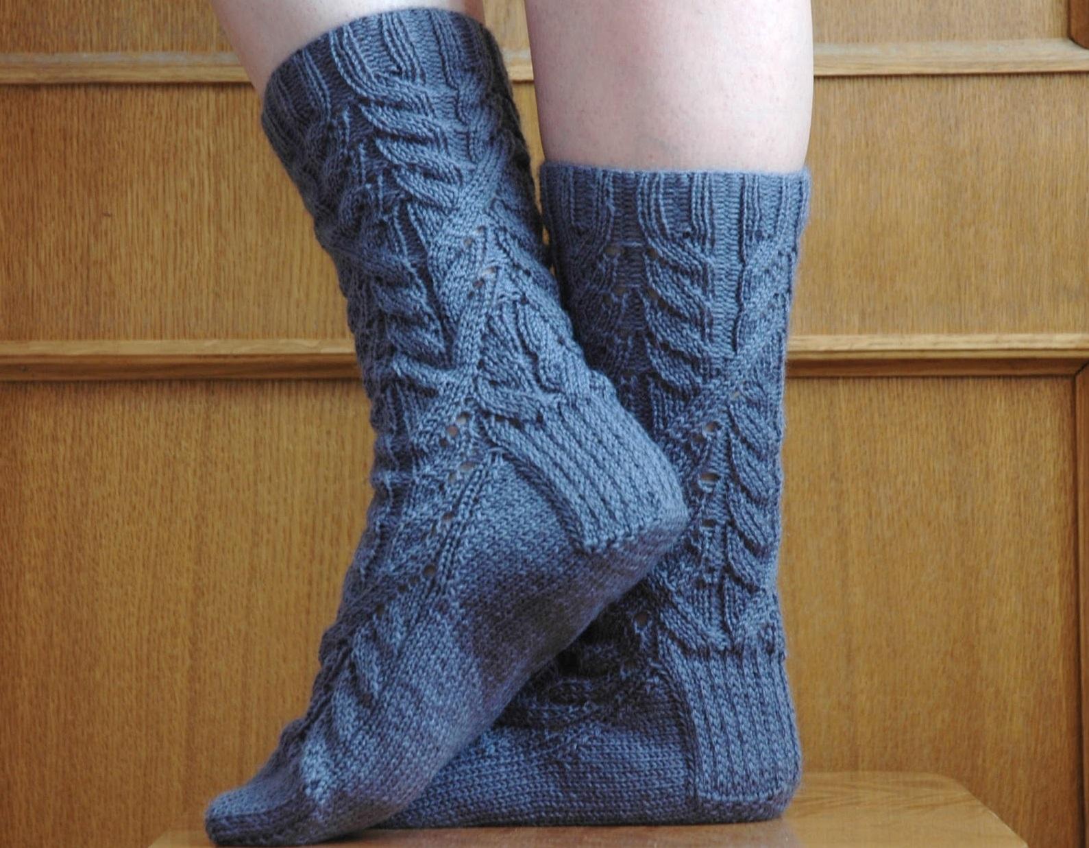 как вязать носки спицами для начинающих пошагово на 5 ...